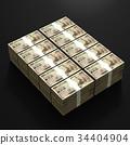 錢 現金 錢幣 34404904
