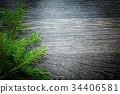branch, evergreen, wooden 34406581