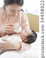 가족, 엄마, 유아 34408922