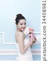 젊은여자, 컨셉, 표정 34408981