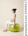 孕婦 韓國 朝鮮的 34409417