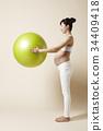 健康 孕婦 朝鮮的 34409418