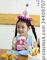 생일, 생일파티, 케이크 34409707