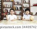 어린이들만, 지구본, 한국 34409742