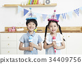 어린이,생일파티 34409756