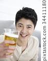 맥주, 맥주잔, 미소 34411180