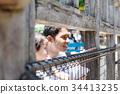 父母和小孩 親子 動物園 34413235