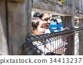 父母和小孩 親子 動物園 34413237