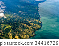 new zealand northern island aerial landscape 34416729