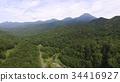 드론에서 상공에서 촬영 한 '시레토코의 숲」(岩尾別 온천 부근 / 홋카이도 샤리 군 샤리 정) 34416927