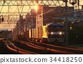 貨運列車 黎明 天亮 34418250