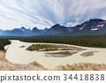 美國 加拿大 山峰 34418838