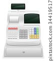 cash register stock vector illustration 34419517
