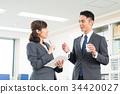 businessman business woman 34420027