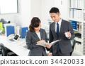 businessman business woman 34420033
