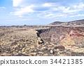 miharayama, burner, crater 34421385