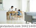 父母和小孩 親子 爸爸 34421449