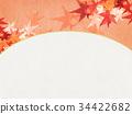 楓樹 紅楓 楓葉 34422682
