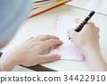 战斗疾病妇女写作的东西 34422910