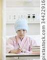 战斗疾病妇女写作的东西 34422916