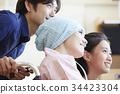 여성, 여자, 가족 34423304