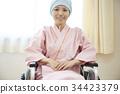 一名婦女在與輪椅的戰鬥中 34423379