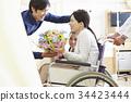 가족, 패밀리, 휠체어 34423444