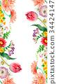 꽃, 플라워, 봄 34424147