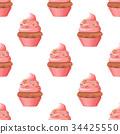 디저트, 후식, 컵케이크 34425550