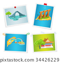 Taiwanese Attractions on Images Attached to Wall 34426229