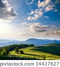 haze, hill, landscape 34427627