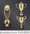 gold, trophy, vector 34428850