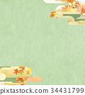 日本模式背景抹茶 34431799