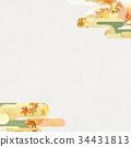 단풍, 배경, 가을 34431813