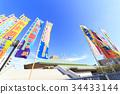 國技館相撲競技場 藍天 相撲 34433144