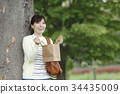 female, lady, woman 34435009