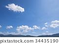 blue, sky, cloud 34435190