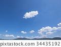 blue, sky, cloud 34435192