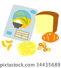碳水化合物 米 麵包 34435689