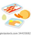 육류 계란 34435692