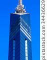 후쿠오카 타워, 시사이드 모모치, 푸른 하늘 34436629