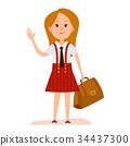 여성, 소녀, 사람 34437300