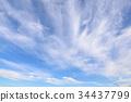 秋天的天空 云彩 云 34437799