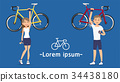 Winning yourself from cycling long distances.  34438180