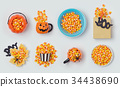 Halloween holiday candy corn collection 34438690