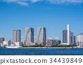 도쿄 도시 풍경 도쿄항 34439849