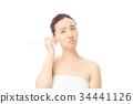 귀이개 여성 34441126