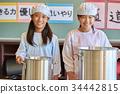 小學生 一個年輕成年女性 女生 34442815