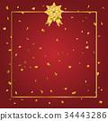 bow, gold, ribbon 34443286