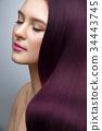 woman, long, hair 34443745